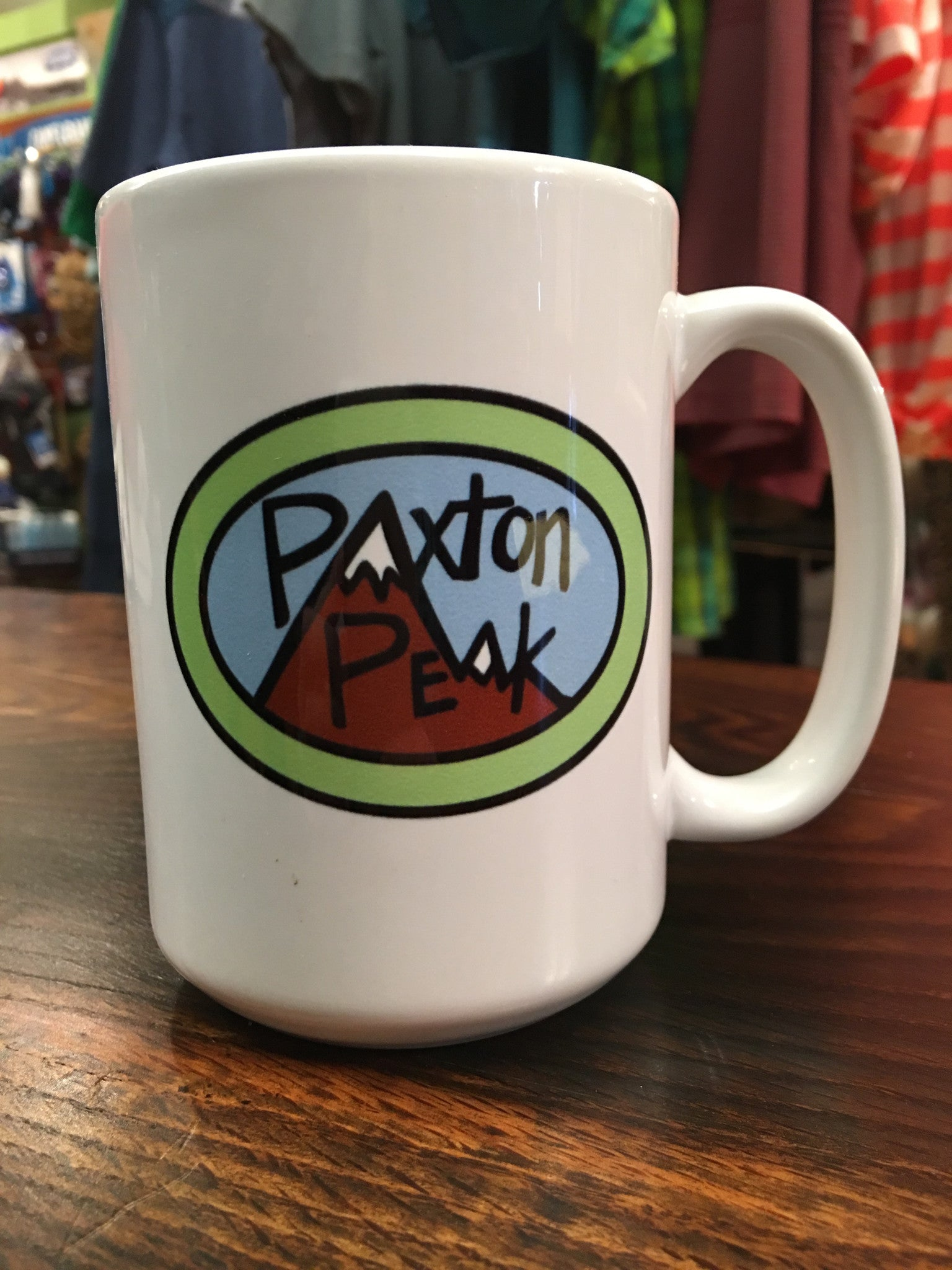 Paxton Peak Original Coffee Mug