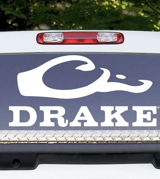 Drake Back Window Decal