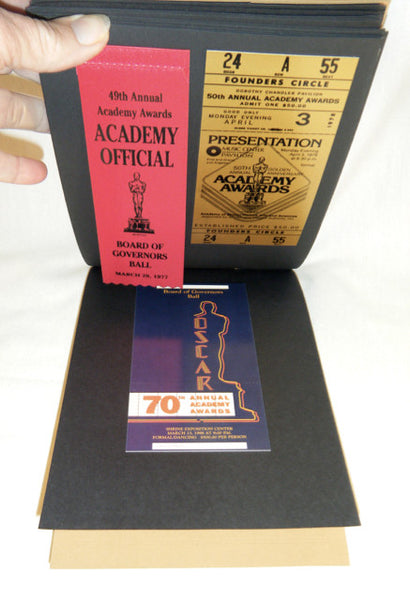 75th Academy Awards Governor's Ball Scrapbook