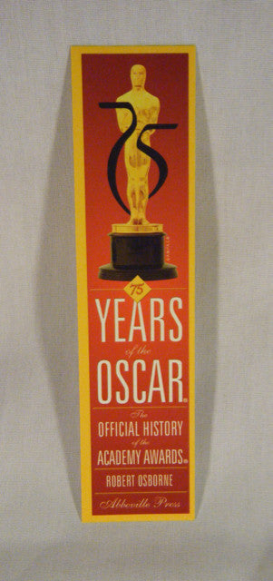 75 Years of Oscar Promo Bookmark