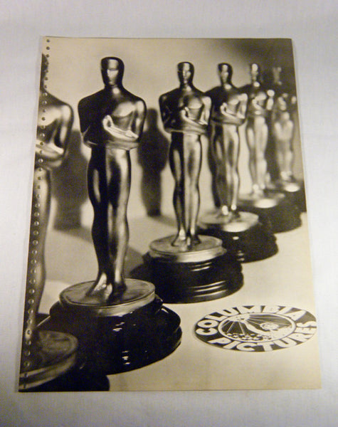 Academy Awards Columbia Pictures Promo Sheet Ad