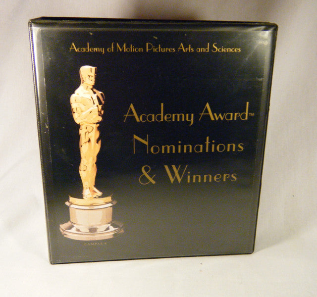 """Academy Awards Nominations and Winners"" Book/Binder"