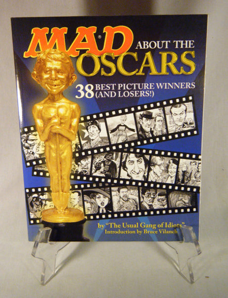 """Mad About the Oscars - 38 Best Picture Winners and Losers!"" Book (SC)"