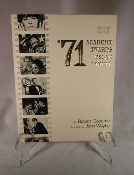 """1971 Academy Awards Oscar Annual"" Book (SC)"