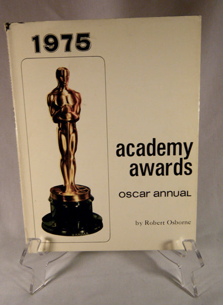"""1975 Academy Awards Oscar Annual"" Book (HB)"