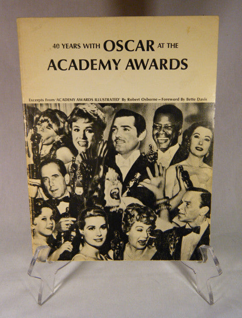 """40 Years with Oscar"" Book (SC)"