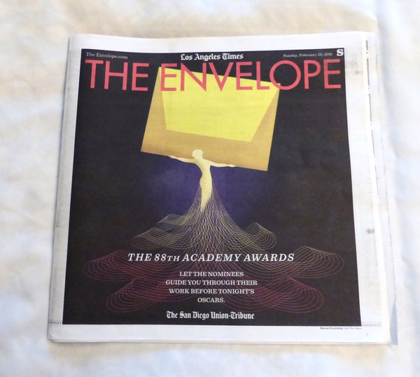 "88th Academy Awards ""The Envelope"" from Los Angeles Times"