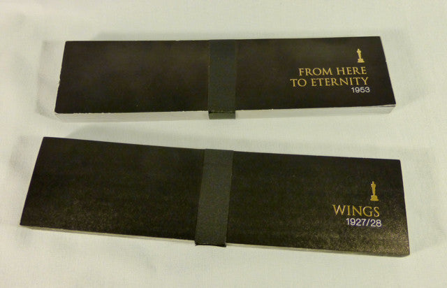 Set of Two Academy Awards Flipbooks