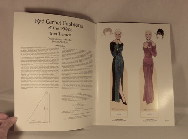 """Red Carpet Fashions of the 1990s"" Paperdolls"