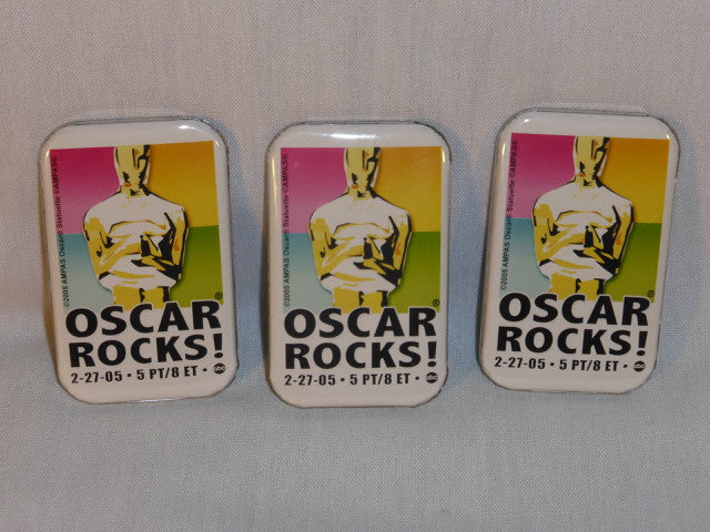 "77th Academy Awards ""Oscar Rocks"" Poster Pin"