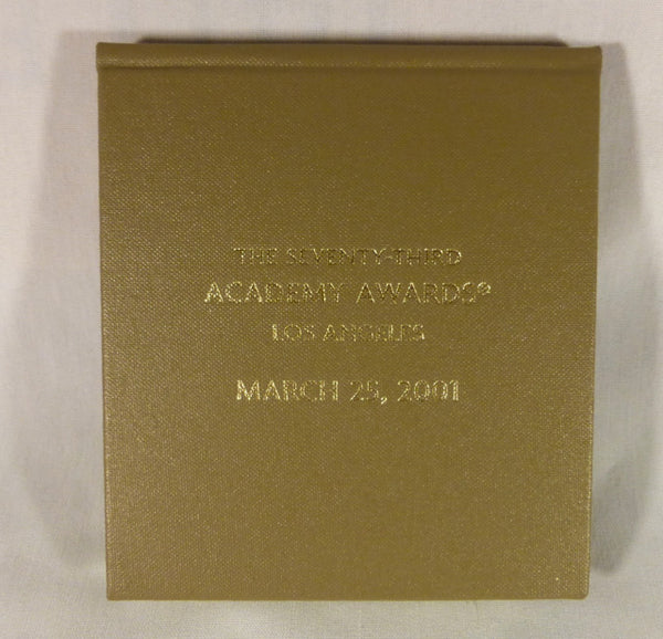 73th Academy Awards Vanity Fair Notepad and Pencil