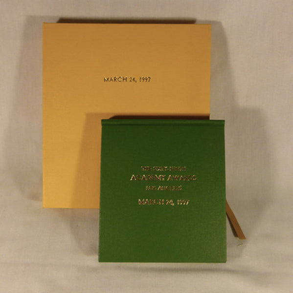 69th Academy Awards Vanity Fair Notepad and Pencil