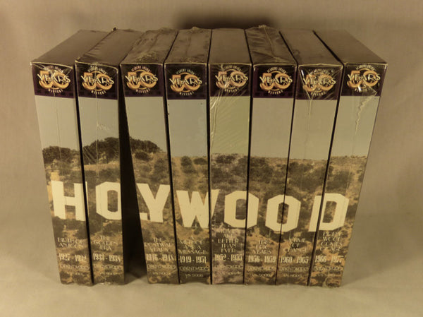 """Academy Awards Winners - The First 50 Years"" VHS Set"