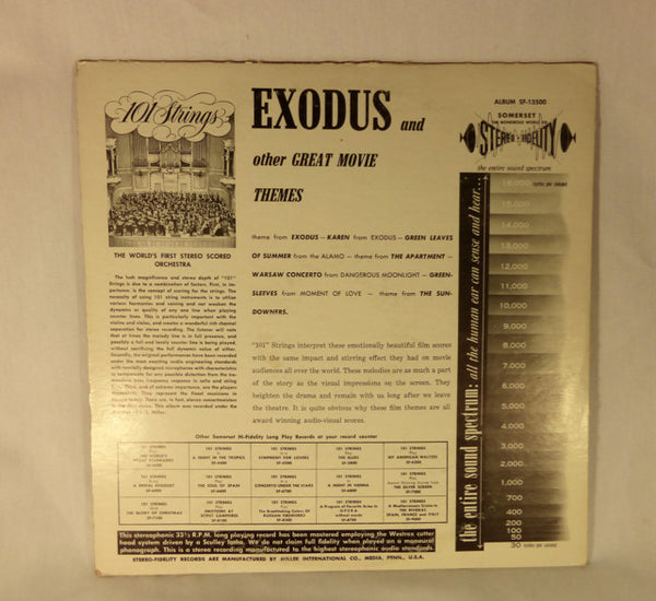 """Exodus and Other Great Movie Themes"" LP"