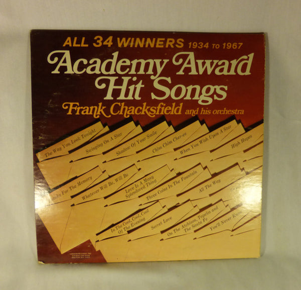 """Academy Awards Hit Songs""  LP"
