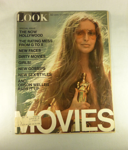 "LOOK Magazine ""Movies"" Issue, Nov. 3, 1970"