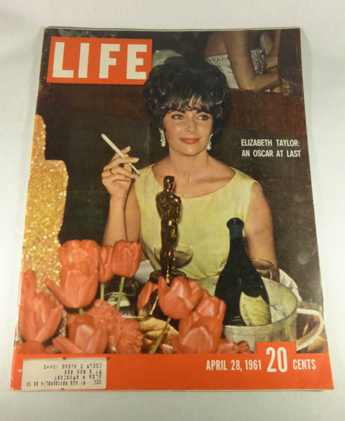 "LIFE Magazine, ""Elizabeth Taylor: An Oscar At Last"" April 28, 1961"
