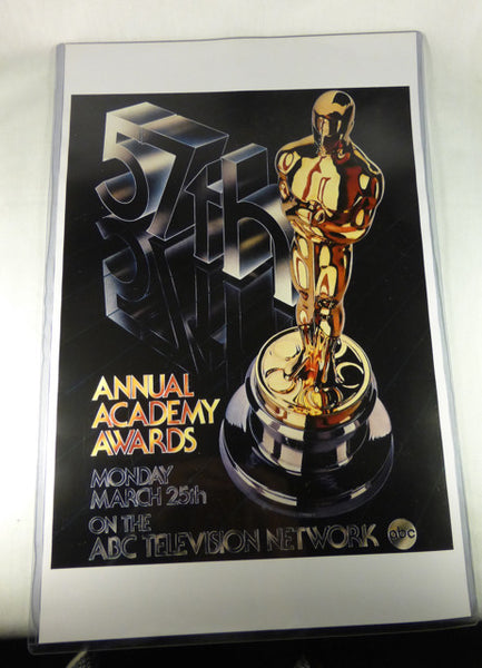 "57th Academy Awards Poster 11""x17"""