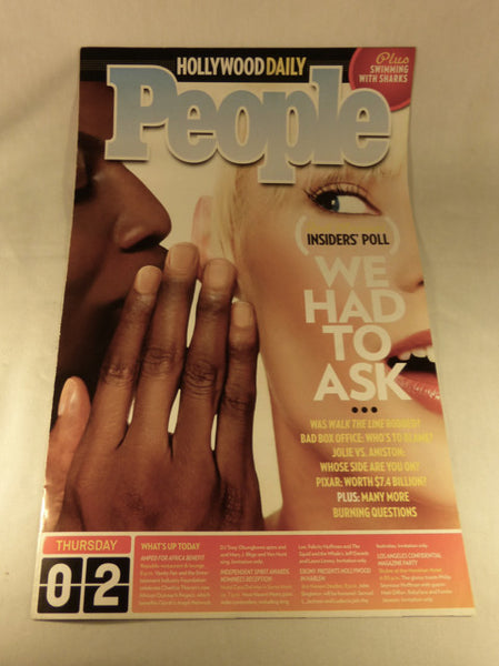 "People-Hollywood Daily, ""We Had to Ask"" 2006"