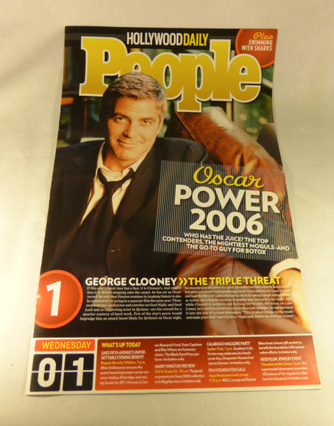 "People-Hollywood Daily, ""Oscar Power 2006"" 2006"