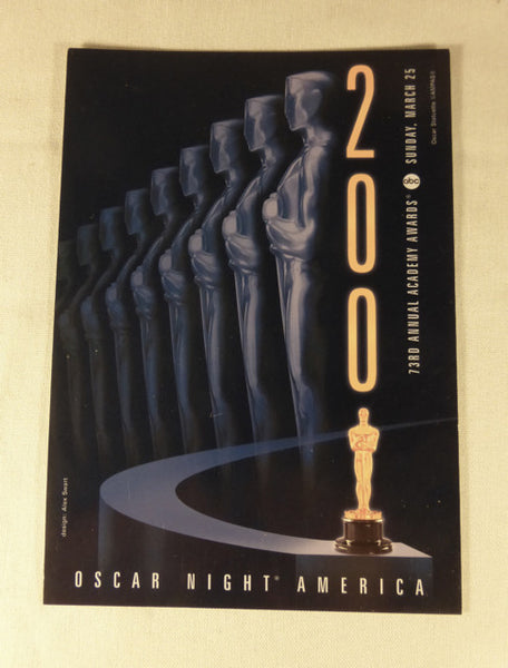 2001 Academy Awards Postcard