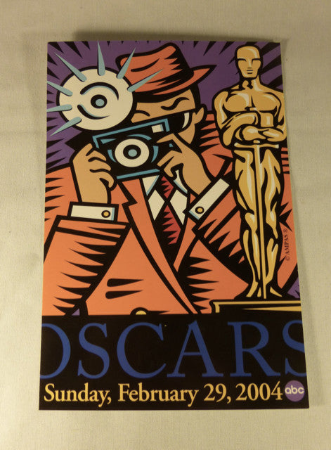 2004 Academy Awards Postcard
