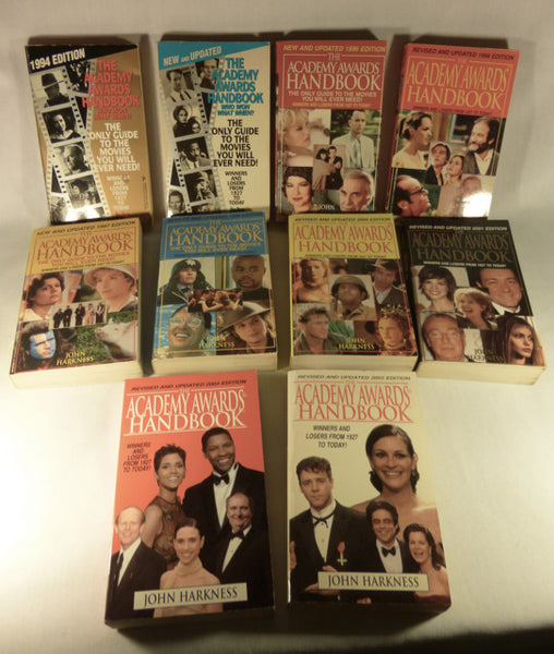 Set of 10 Academy Awards Handbooks 1994-2003