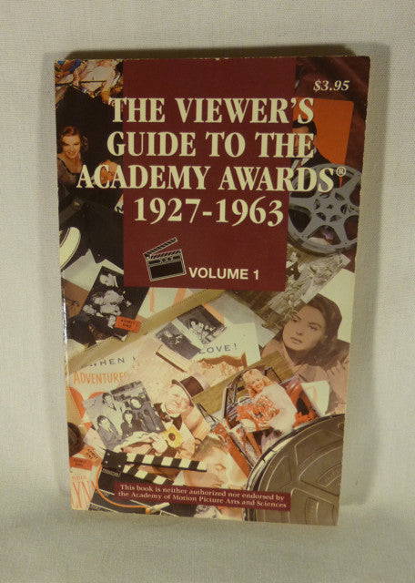 """The Viewer's Guide to the Academy Awards Vol 2"" Book (PB)"