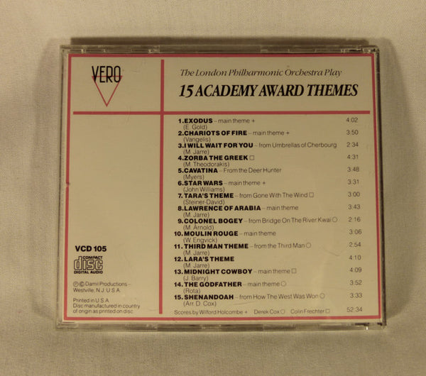 """Academy Awards Themes"" CD"
