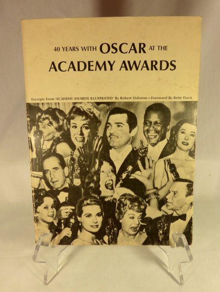 """40 Years of OSCAR at the Academy Awards"" Book (SC)"