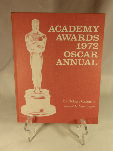 """Academy Awards 1972 Oscar Annual"" Book (HC)"