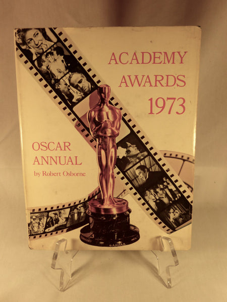 """Academy Awards 1973 Oscar Annual"" Book (HC)"