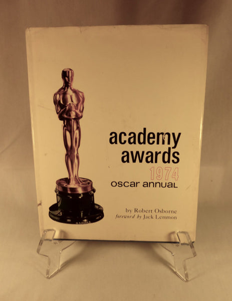 """Academy Awards 1974 Oscar Annual"" Book (HC)"