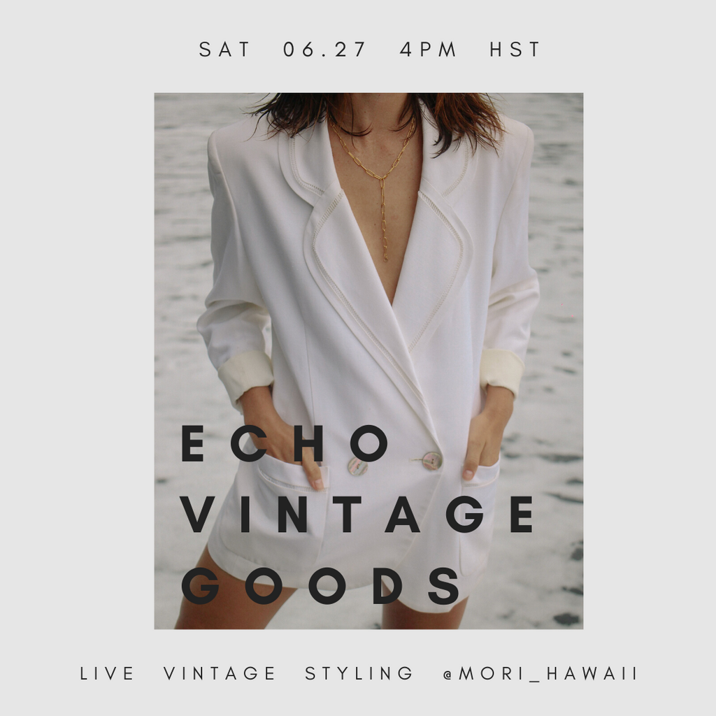 LIVE VINTAGE STYLING by ECHO VINTAGE GOODS
