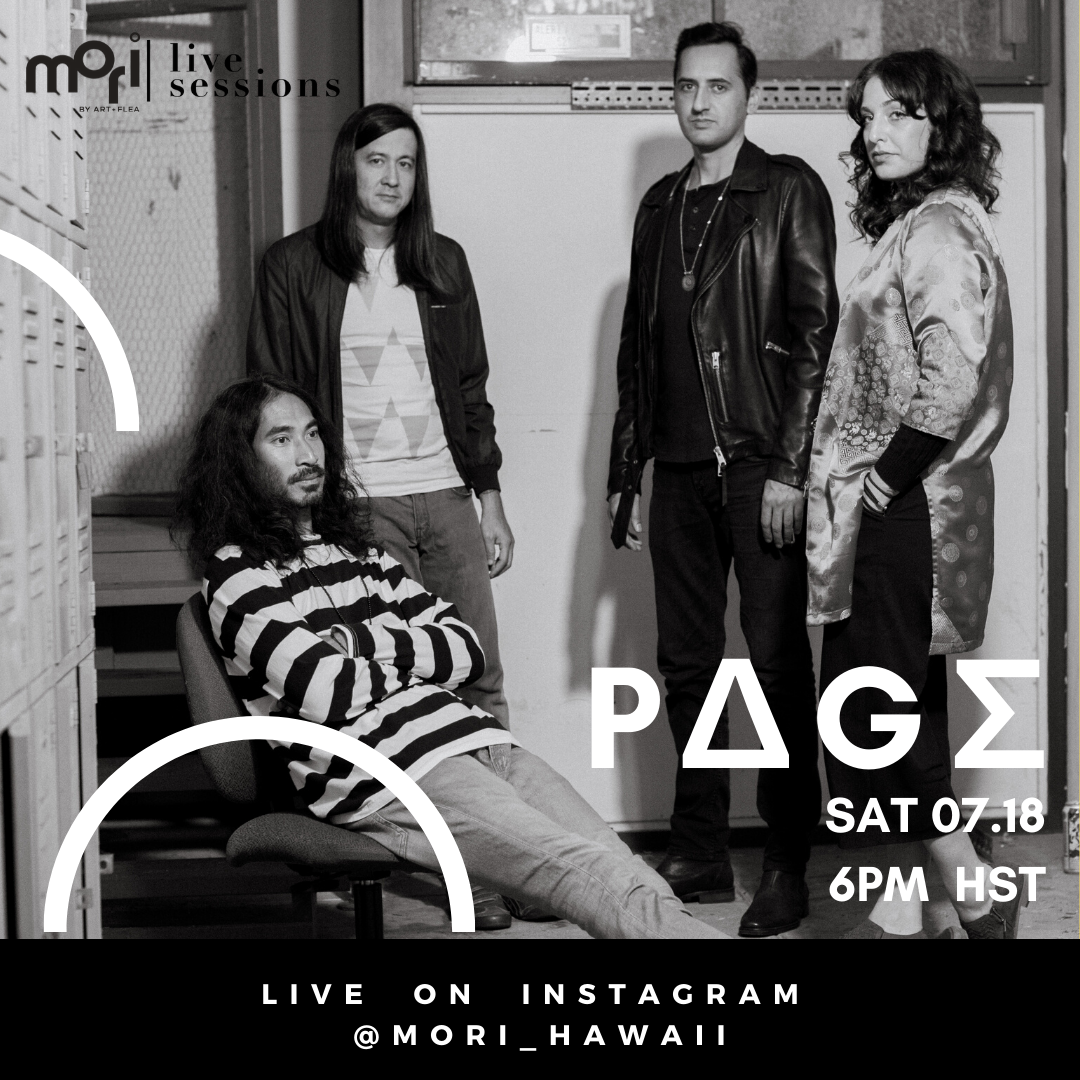 MORI LIVE SESSIONS FEATURING P∆G∑