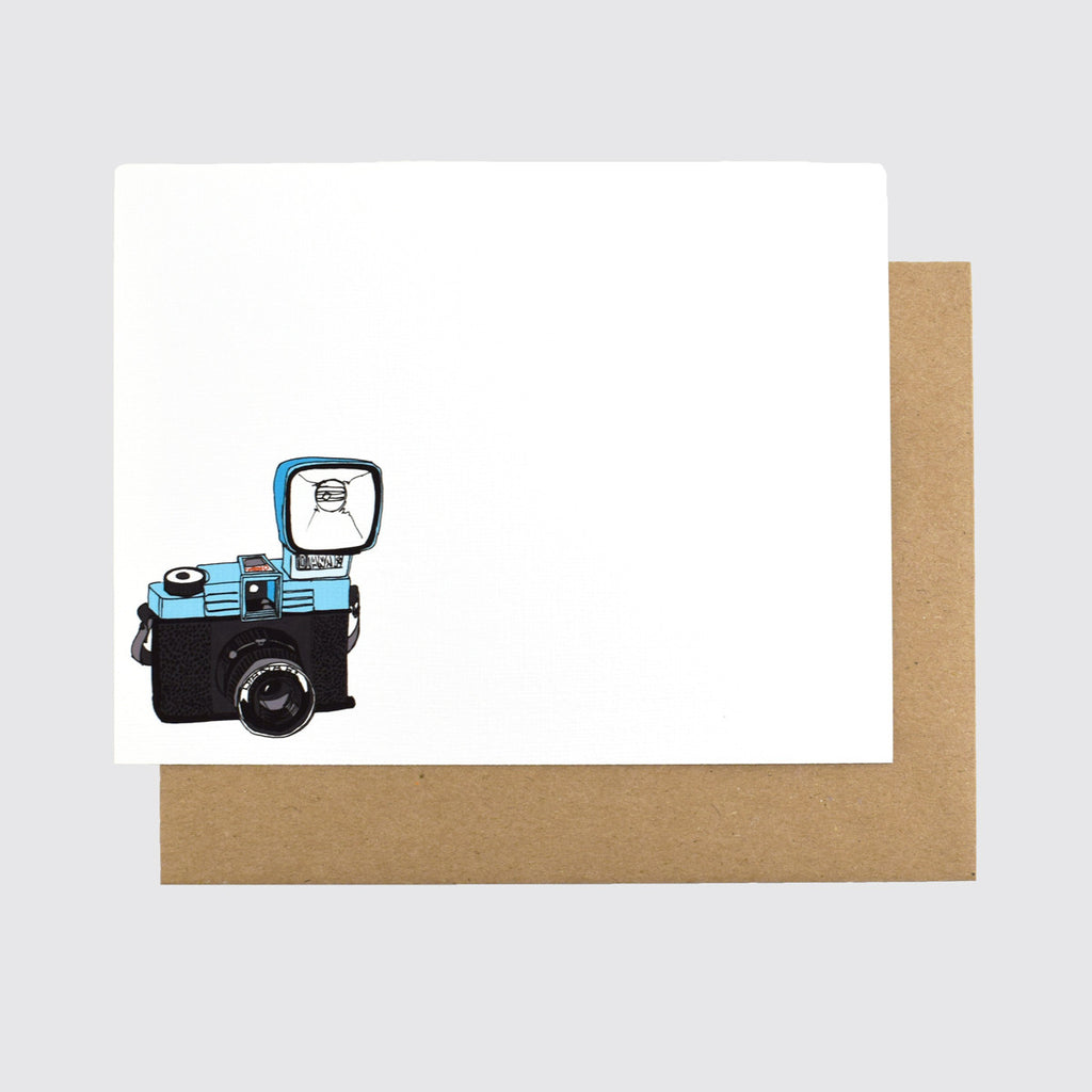 CAMERAS NOTECARD SET BY MISTPRINT