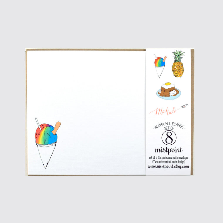 Assorted Notecard Set in Aloha