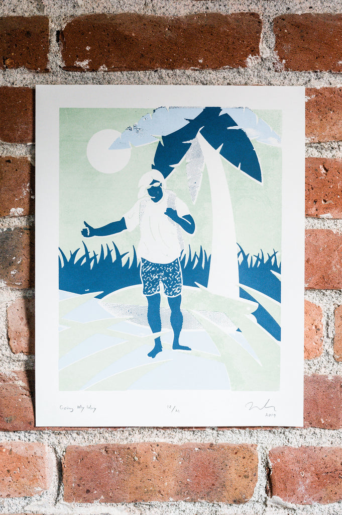 Winter Swell Series Screen Print