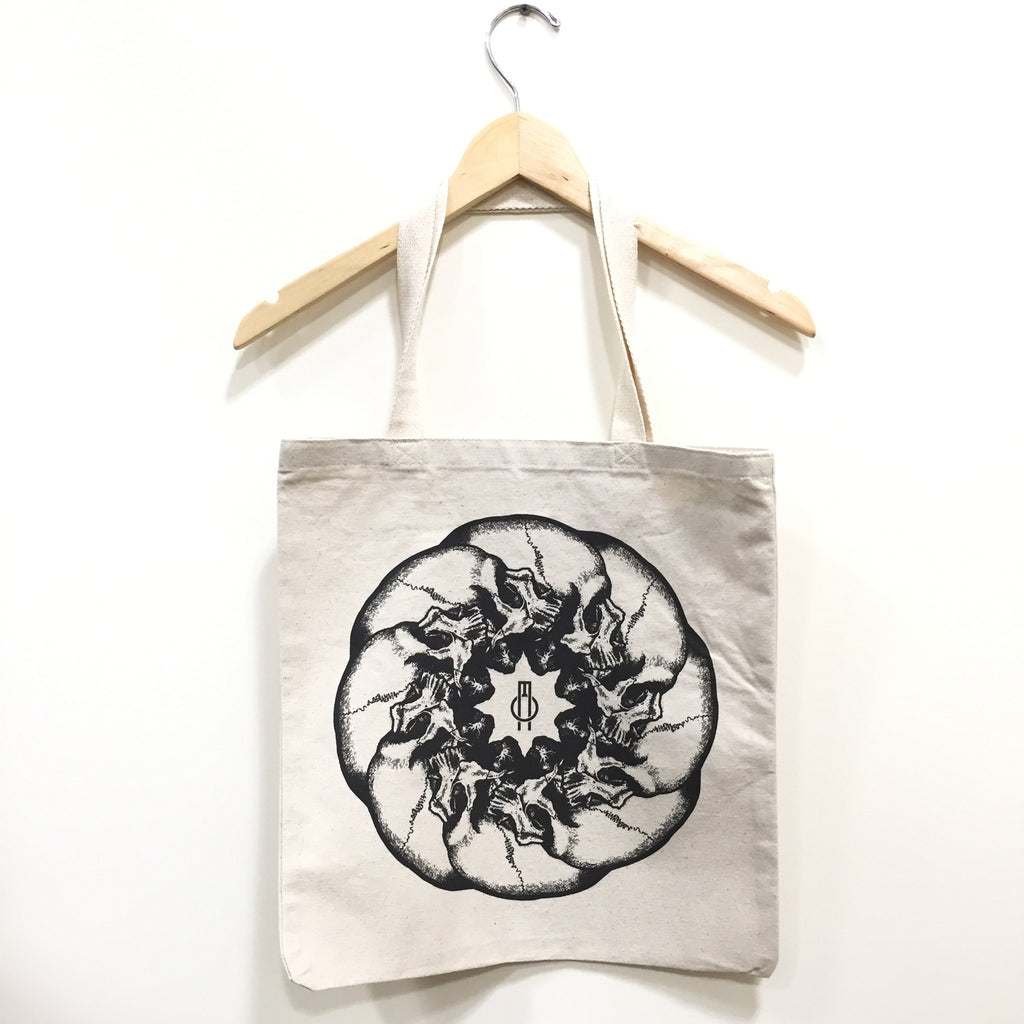 INFINITA MORTEM CANVAS TOTE BY OVERMIND