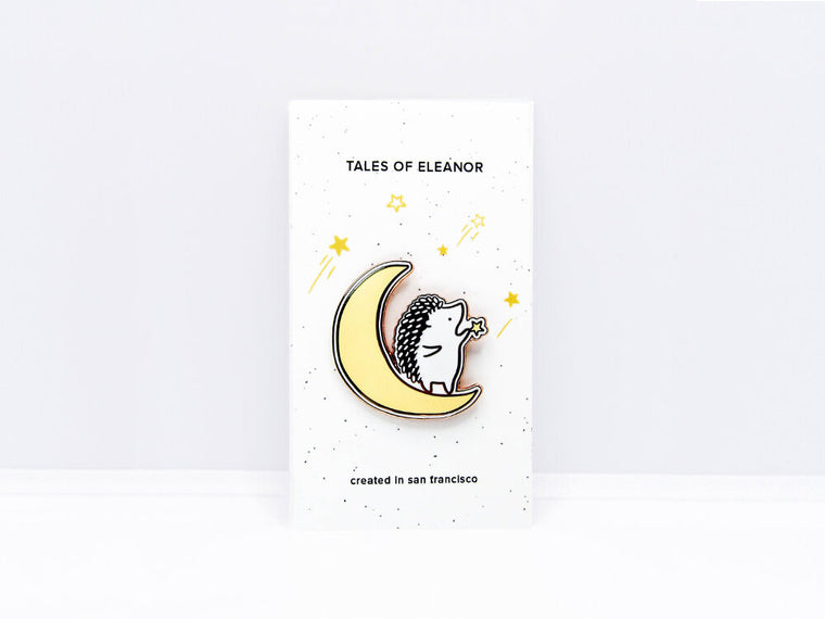Moon Enamel Pin