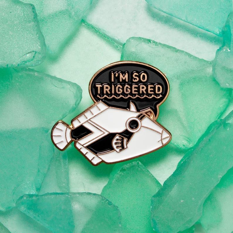 Triggered Fish Pin