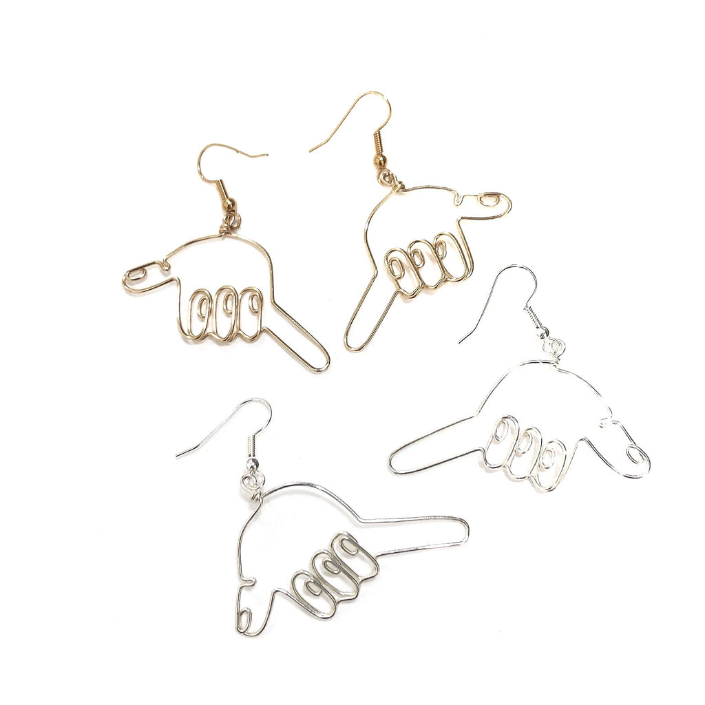 Hands (Shaka) Earrings