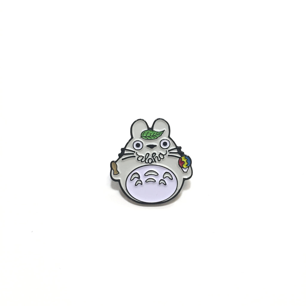 Smile Aloha Totoro Pin by NATURE NURTURE