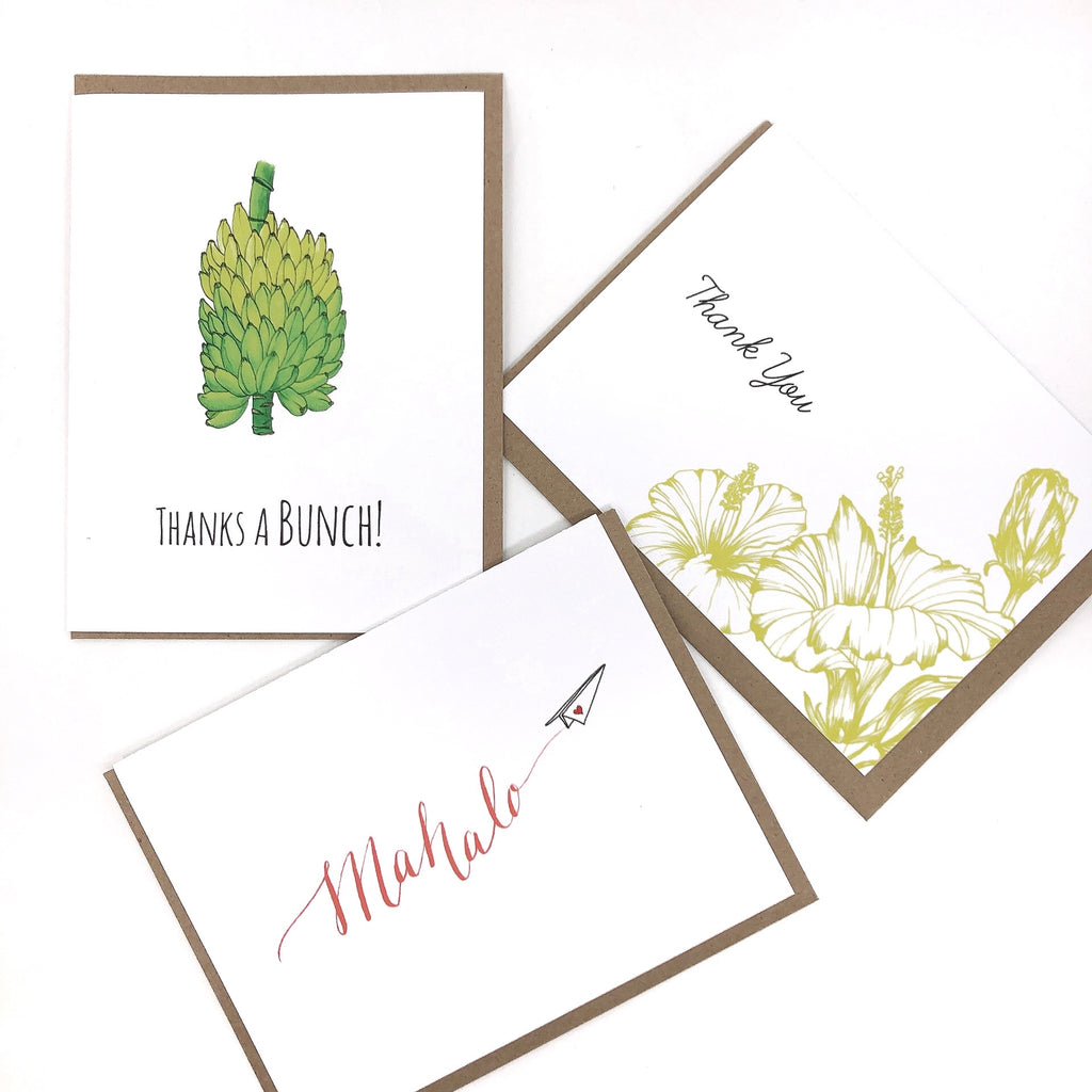 Thank You Series Greeting Cards