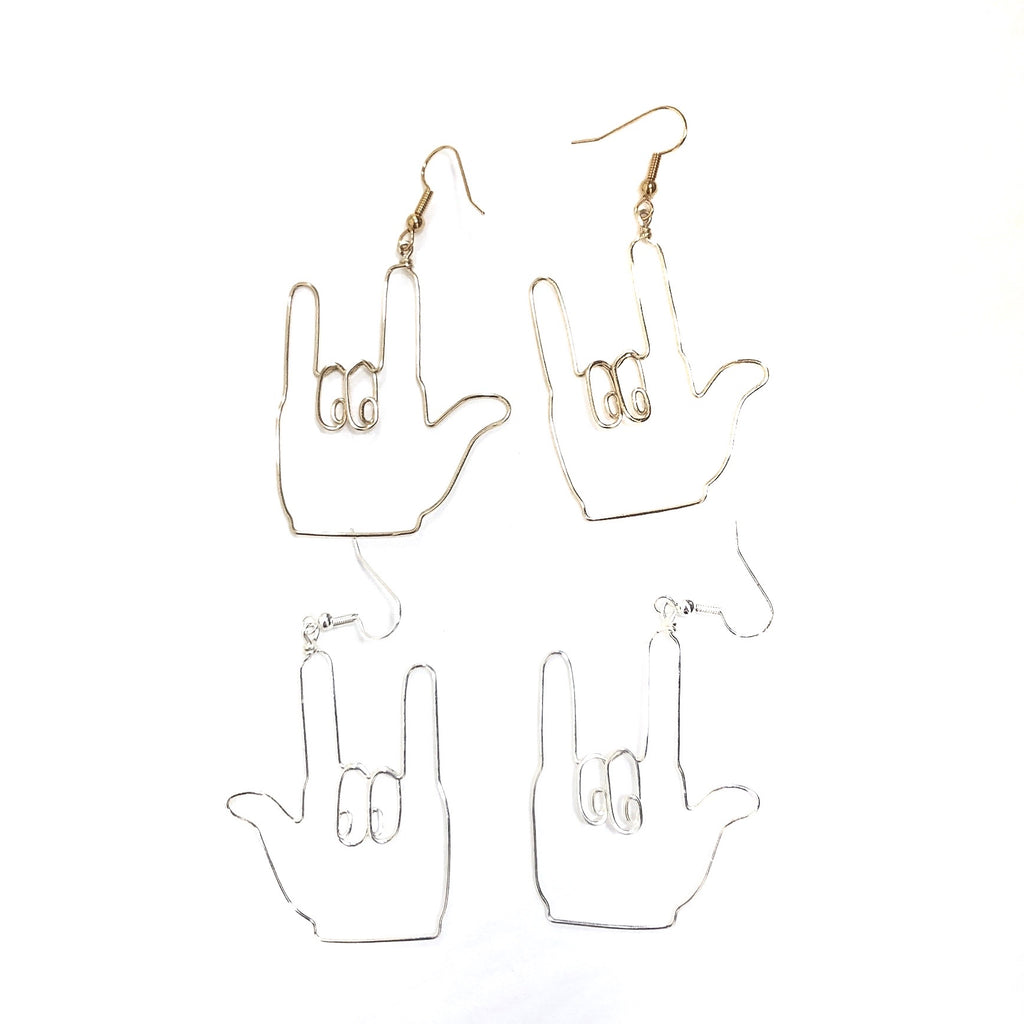 Hands (Gallaudet) Earrings