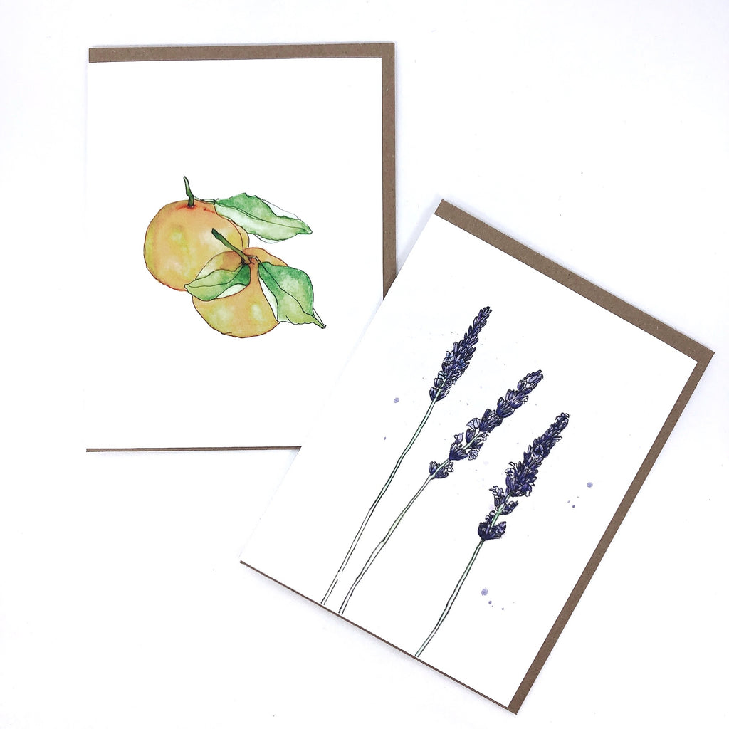 Watercolor Series Greeting Cards