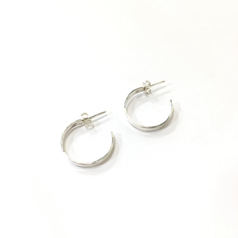 Small Open Hoop Earrings