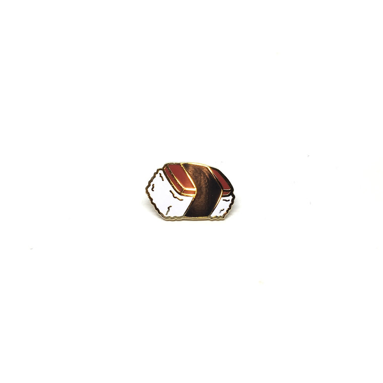 Musubi Enamel Pin by 6 Degrees of Hapa