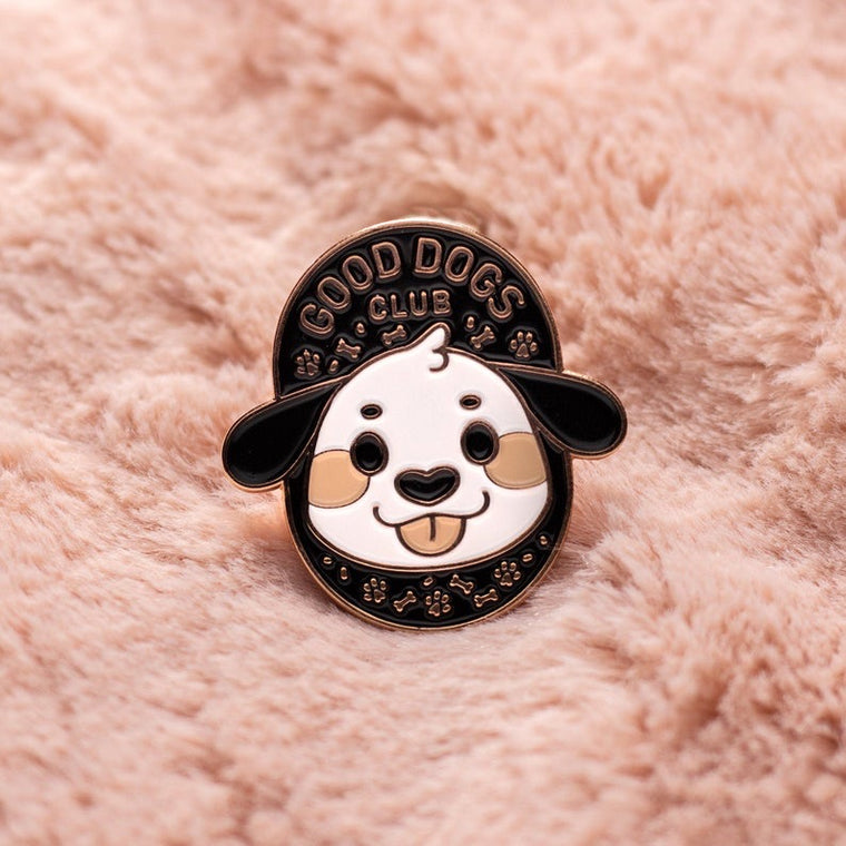 Good Dogs Club Pin