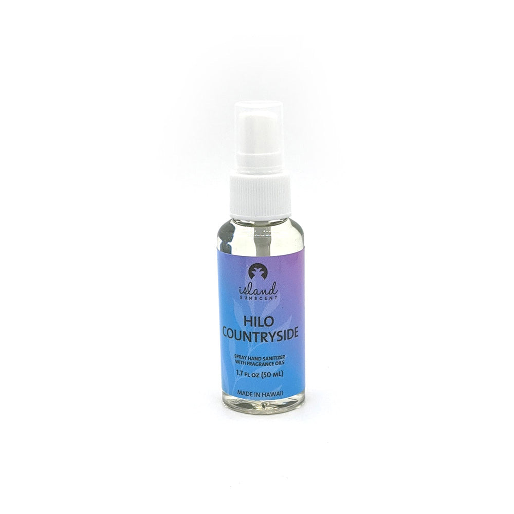 Island Sunscent Spray Hand Sanitizer